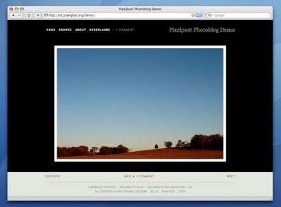 Mise à jour de Pixelpost 1.7.3